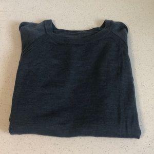 Lululemon raglan style knit crew neck sweater